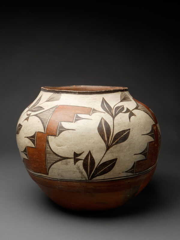 Outstanding Zia Polychrome Large Storage Jar