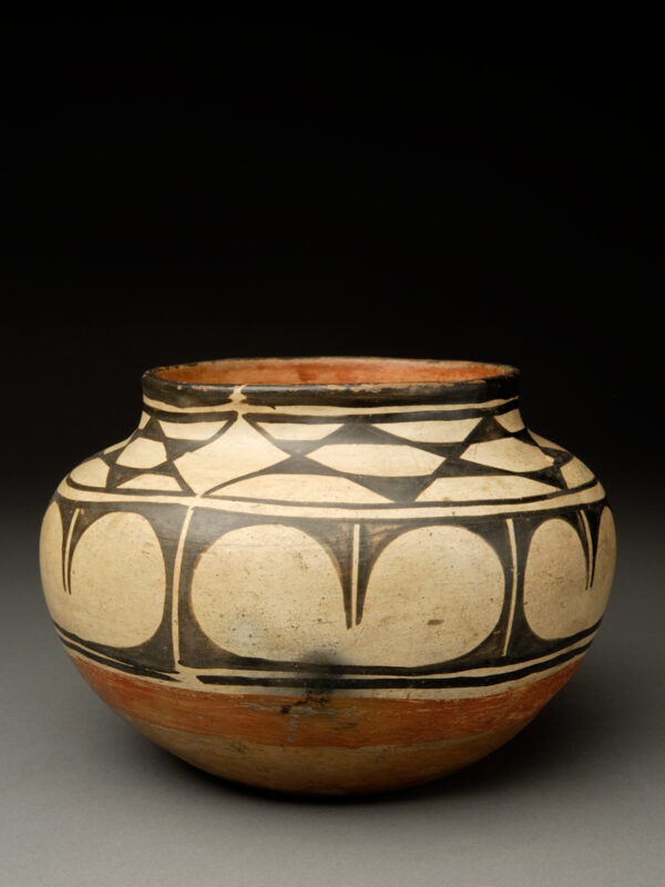 Small Kewa (Santo Domingo) Polychrome Small Jar