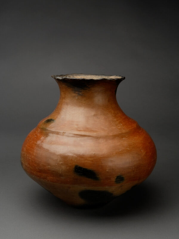 Tewa Red-on-Tan Jar