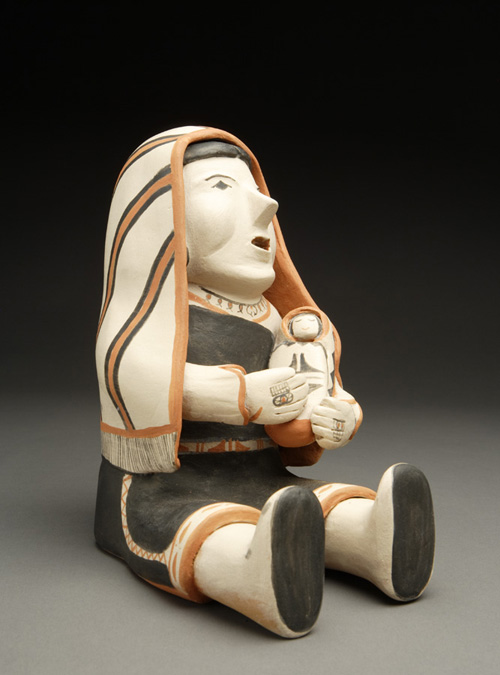 Exceptional Cochiti Singing Mother