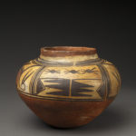 Small Superb Hopi Polacca Polychrome Child's Water Jar