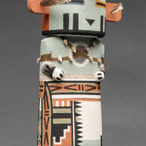 Thunder and Lightning Katsina doll by Darance Chimerica